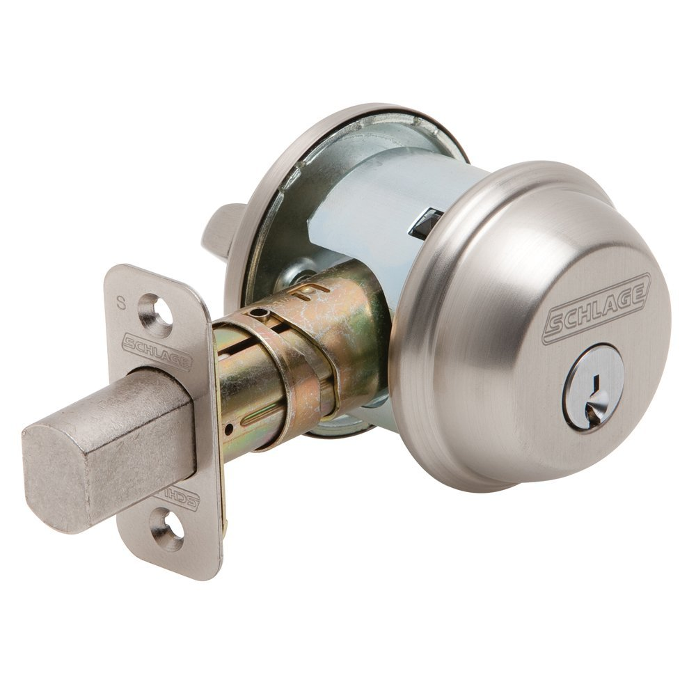 how to re key a schlage deadbolt home door lock