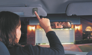 Garage Door Opener in Car